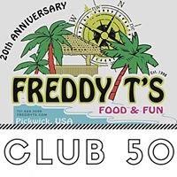 Freddy T's Club 50