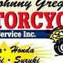 Johnny Gregory Motorcycle