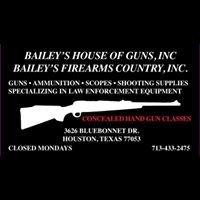 Bailey's House of Guns