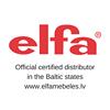 SIA ELFA Mēbeles - Oficiālais parstāvis Baltijas valstīs - 12 gadi Latvijā