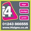 I4 Sign Design Print