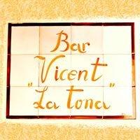 Bar Vicent de la Tona