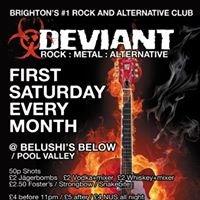 DEVIANT! Brighton's #1 Rock Club!