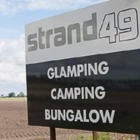 Strand49 camping glamping vakantiehuis aan zee