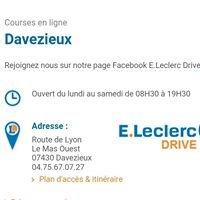 E.Leclerc Drive Davezieux