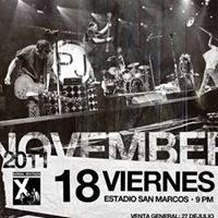 Pearl Jam Perú 2011