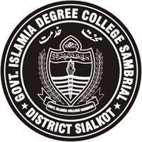 Government Islamia Degree College, Sambrial Distt. Sialkot