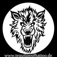 Tequila Wolf Tattoo