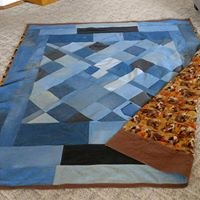 Lindy's Rail Fence Quilting