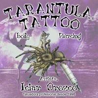 Tarántula Tattoo