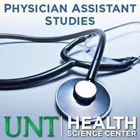 UNT HSC Physician Assistant Studies