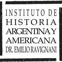 """Instituto de Historia Argentina y Americana """"Dr. Emilio Ravignani"""""""
