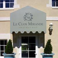 Le Clos Mirande Restaurant