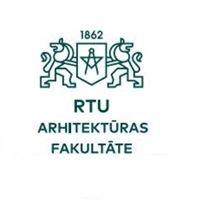 Arhitektūras un Pilsētplānošanas Fakultāte #apflv