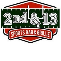 2nd & 13 Sports Bar and Grille