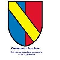 Service de la culture, des sports et de la jeunesse Commune d'Ecublens