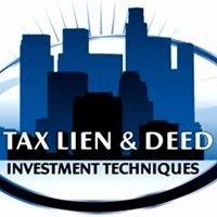 Tax Lien & Tax Deed Investing