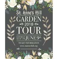 St. Anne's Hill Historic Home and Garden Tour