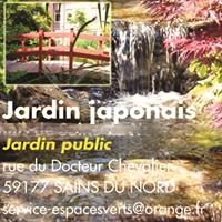 Jardin Japonais ville de Sains du Nord