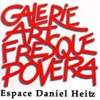 """Art Fresque Povera  Espace Daniel Heitz expos """"Regards"""" sur des Artistes"""
