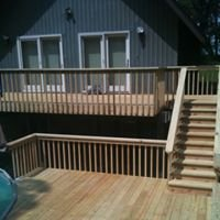 Lake Deck, Siding, and Construction