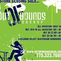 Out of Bounds Board Shop Reno