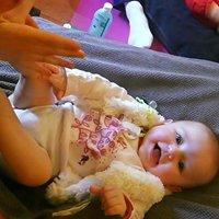 Calinou massage bébé