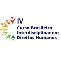 IV Curso Brasileiro Interdisciplinar em Direitos Humanos