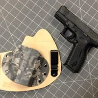 Defiance Concealment custom kydex holsters & hydrographix