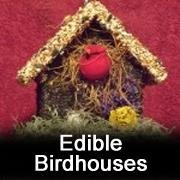Edible Birdhouses by Hidden Creek