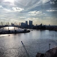 Emirates Air Line cable car North Greenwich