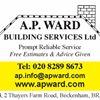 A P Ward Building Services Ltd
