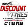 Hackett's Discount Tyres