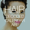 Hair Decoded Calendar Mobile App