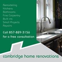 Cambridge Home Renovations