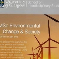 Environmental Change and Society at the University of Glasgow