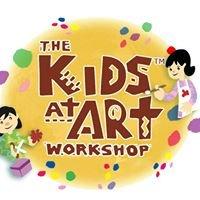 Kids At Art Workshop