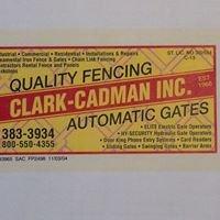 CLARK-CADMAN, INC FENCING