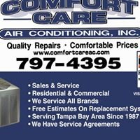 Comfort Care Air Conditioning Inc.