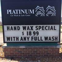 Platinum Car Wash & Express Lube center