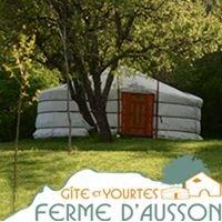 La Ferme d'Ausson - Gîte et Yourtes Drôme