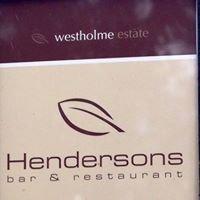Henderson's Bar & Restaurant
