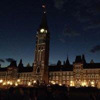 Mosaika Light Show At Parliament Hill