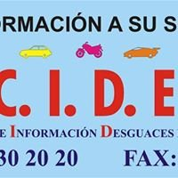 CIDE Centro de datos e Informes Desguaces de España