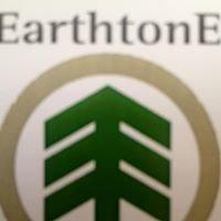 Earthtone lawn and landscape