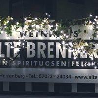Alte Brennerei, Weinhaus