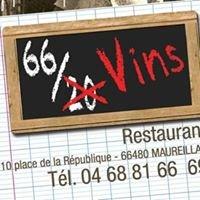 "Restaurant ""66 sur Vins"""