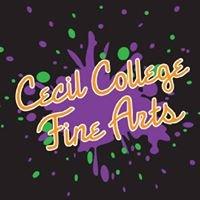 Cecil College Fine Arts Program