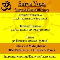 Surya Yoga 5 Points