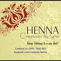 Henna Creations By Iqra Karachi Pakistan